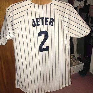 RARE AUTHENTIC New York Yankees Derek Jeter Jersey